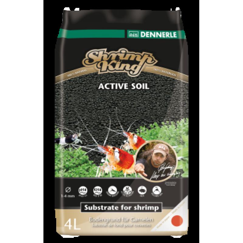 Dennerle ShrimpKing Active Soil 4L