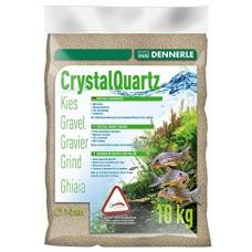 Dennerle Crystal Quartz Gravel Naturel White 10kg