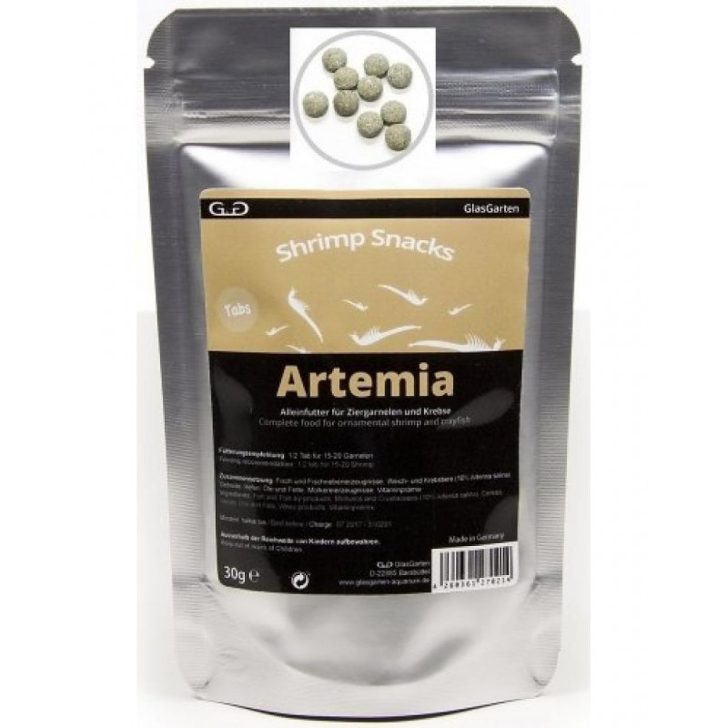 GlasGarten Shrimp Snacks Artemia 10gr