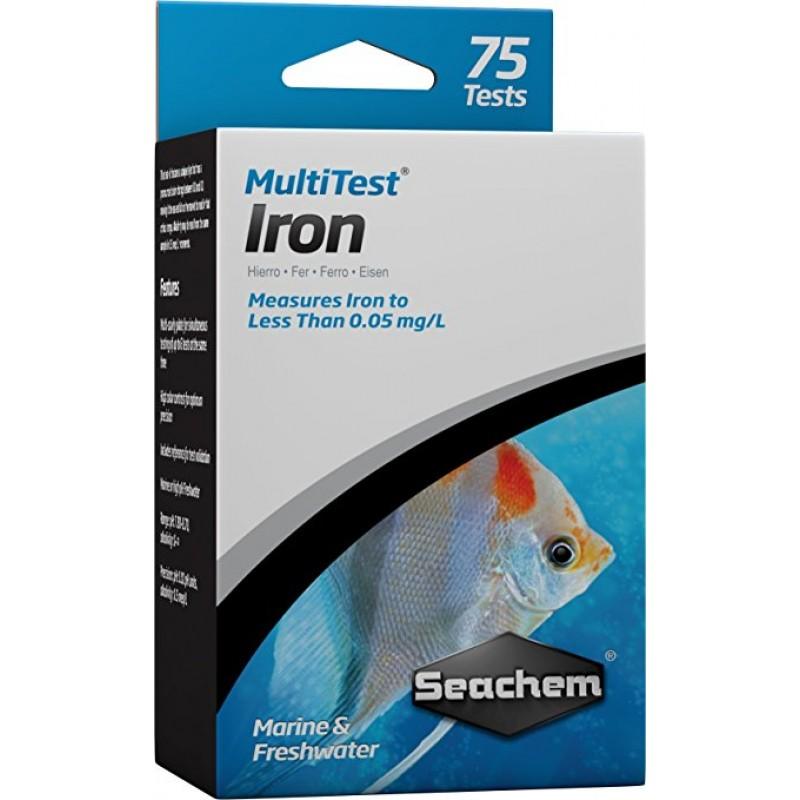 Seachem MultiTest Iron 75 test