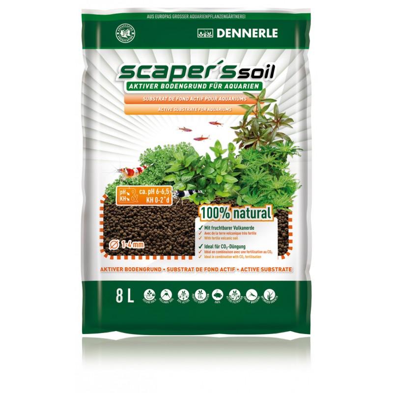 DENNERLE Scaper's Soil 1-4 mm 8L