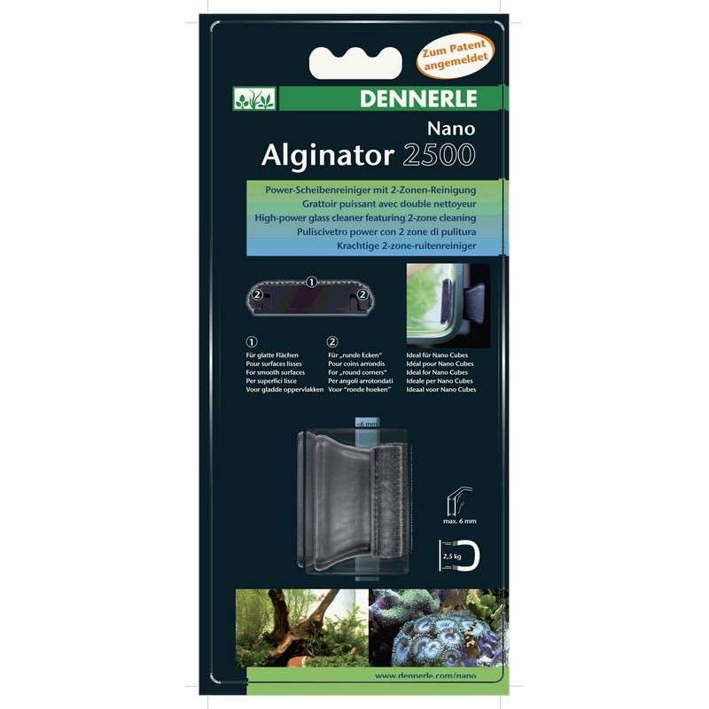 DENNERLE Nano Alginator 2500 - high-power glass cleaner